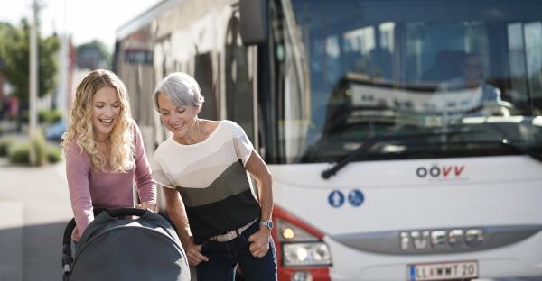 Mobilitätswoche: Gratis mit den OÖVV Stadt- und Citybussen fahren