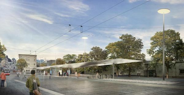 Mirabellplatz 2.0: So wird der Busbahnhof in Zukunft aussehen