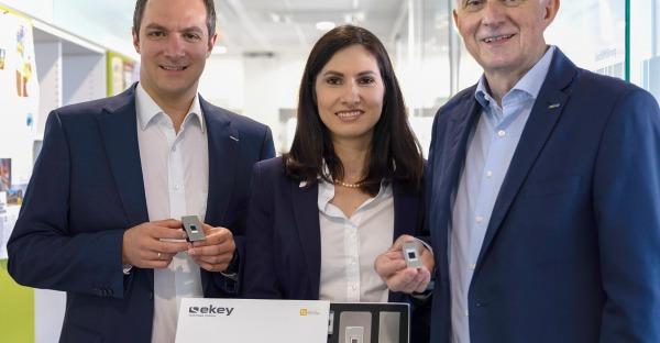 Ekey: Neuer Fingerprint für die Haustür