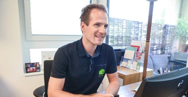 Vertrauensvoll: Dr. Matthias König