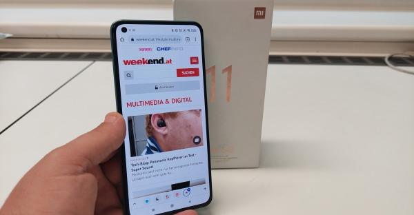 Tech-Blog: Xiaomi Mi 11 Lite 5G im Test - Leichtgewicht!?