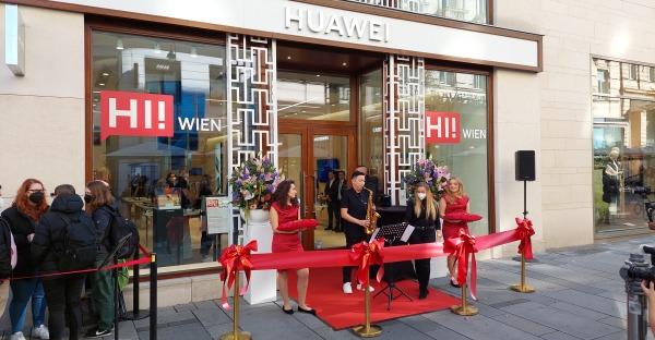Wien: Huawei Flagship-Store offiziell eröffnet