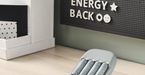 Schluß mit Einweg: IKEA killt Alkali-Batterien und setzt auf Akku
