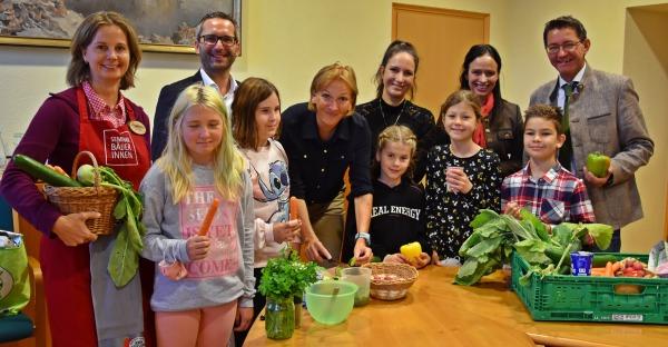 Schüler besuchten Landwirtschaftskammer Kärnten