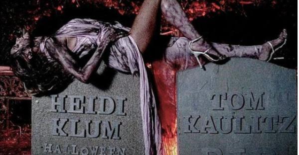 Vorfreude auf Halloween: Heidi Klum postet Grusel-Fotos