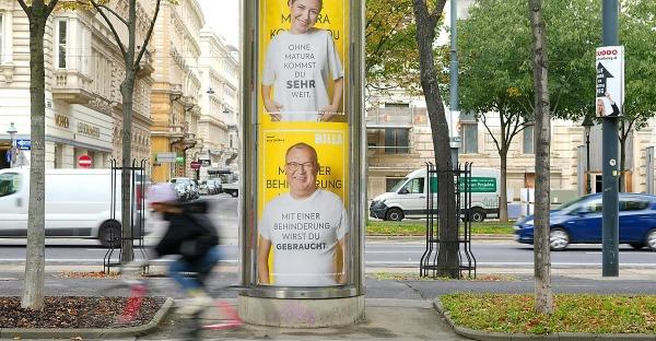 """Billa steht hinter """"Nicht gebraucht""""-Kampagne"""