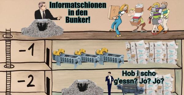 Bunker-Bau: Die 7 lustigsten Tweets aus dem Untergrund