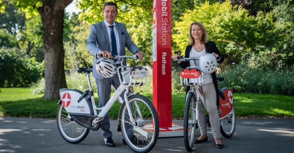 Öffi-Alternative: 3.000 Leihräder am Start