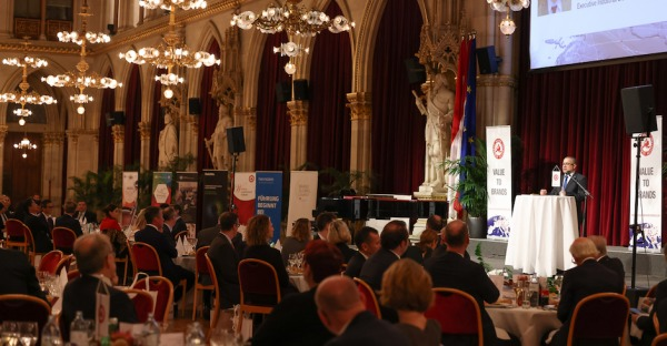 Business Networking im Wiener Rathaus